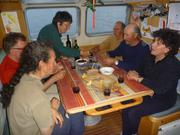 Avec Claudine et Alain Caradec