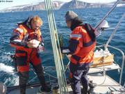 Allan et Anders prelevement d eau