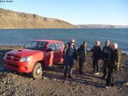 Biologistes danois fin de mission a Thule