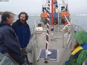 Avec Gilles Elkaim sur Arktika
