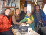 France Eric et Leonie avec Emmanuel Hussenet et Gilles Elkaim