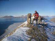 Rando vers Pyramide fjord du Cap Sud