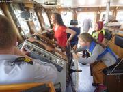 Passerelle bateau des gardes-cotes