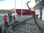 Grosse ancre a Nuuk