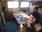 Petit-dej avec Francois a Nuuk
