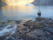 Plein d eau depuis cascade