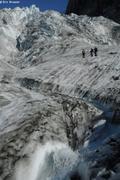 Bediere et seracs glacier Kilikilat