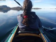 Avec France en kayak a Kulusuk