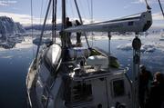 Paisible navigation dans le Sermilik