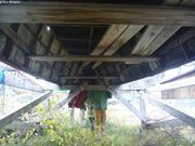 Sous un oumiak a Maniitsoq
