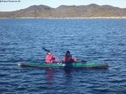 Celine et Eric en kayak