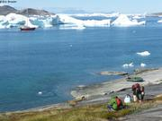Camarines au bord du fjord