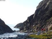 Au fond du fjord Laksebugt