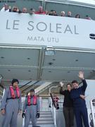 Depart du Soleal