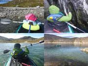 En kayak avec Aurore et Leonie