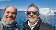 Christophe et Ronan heureux d avoir atteint le Groenland