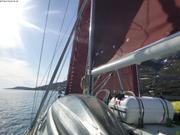 Voiles sous le soleil groenlandais