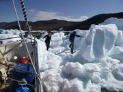 Explo banquise fjord de Nuuk