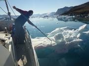 France repousse bloc de glace