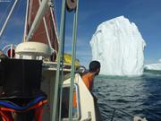 Iceberg trop proche