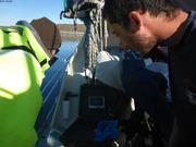 Recherche coralline avec camera sous-marine