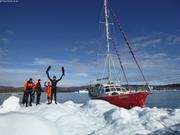 Petite plongee banquise pres d Ilulissat