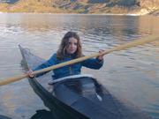 Aurore kayak groenlandais