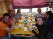 Lunch avec Floortje et Renee
