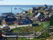 Upernavik et icebergs