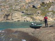 Belle dalle pour plonger proche Upernavik