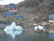 Radeau improvise a Nussuaq