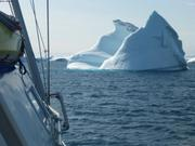 Contourner les icebergs en baie de Melville