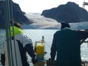 Releves devant glacier Eastern