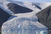 Glacier fiord du Cap Sud