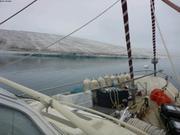 Glacier tranquille pret de l'ile Easter
