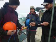 Mise a l'eau mouillage oceano baie Talbot pour un an