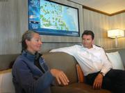 France et Patrick a bord de L Austral