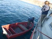 Sauvetage d une barque a la derive