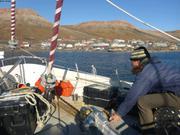 Arrivee a Arctic Bay