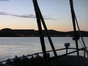 La nuit tombe sur Arctic Bay