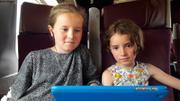 Leonie et Aurore TGV Brest Paris