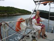 Navigation estivale au sud de Terre-Neuve