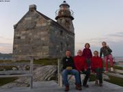Avec Christian au phare de Rose Blanche