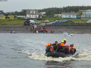 Embarquement ferry Langlade