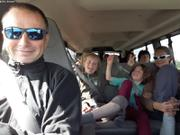 Dans le bus pour Saint-Jean de Terre-Neuve