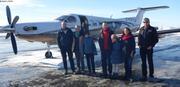 Depart de Quebec pour Miquelon