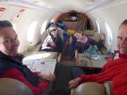 Equipage Vagabond en vol pour Miquelon en Pilatus le 10 avril 2019