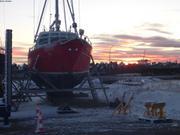 Vagabond au sec a Miquelon depuis 20 mois