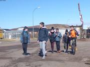 Leonie et nouveaux copains a Miquelon