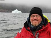 Christophe et iceberg depart de St Johns